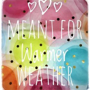 Warmer weather gear Banner